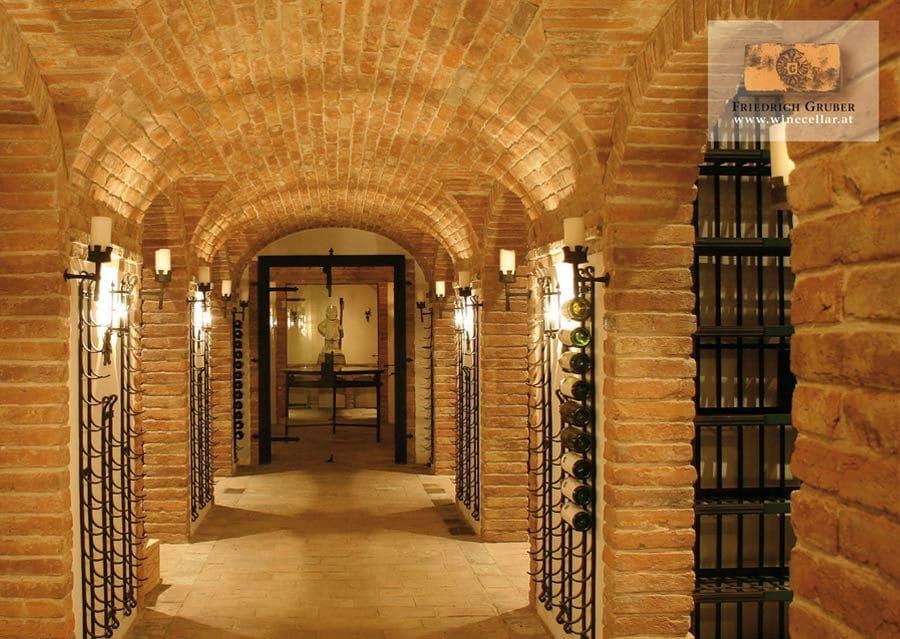 Weinkellerbau Gewölbe