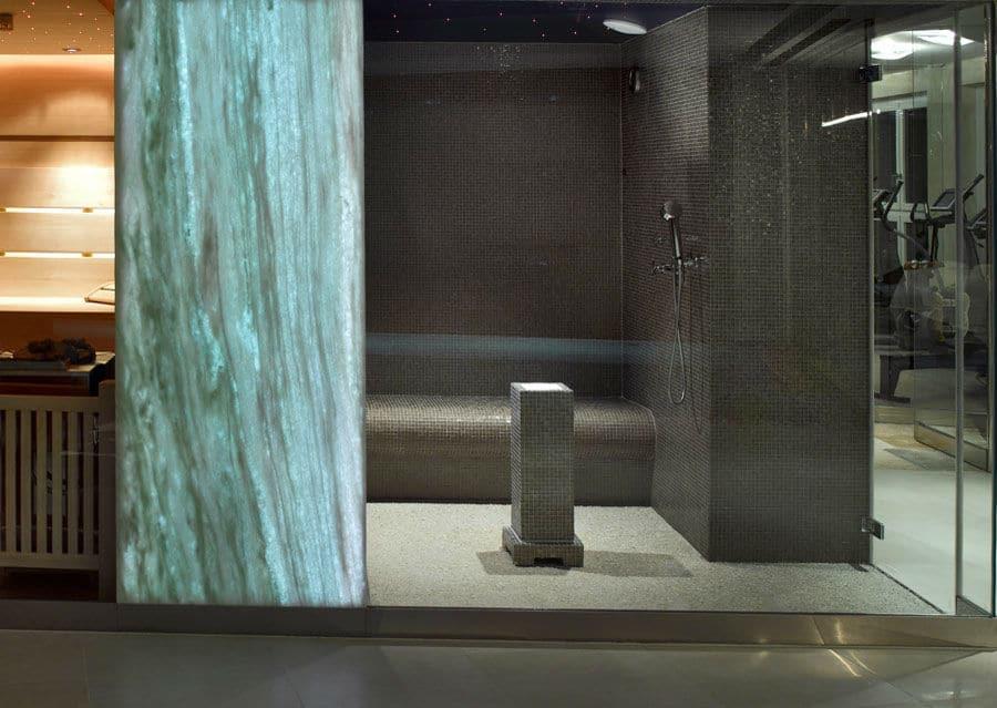 Wellnessbad Duschbereich