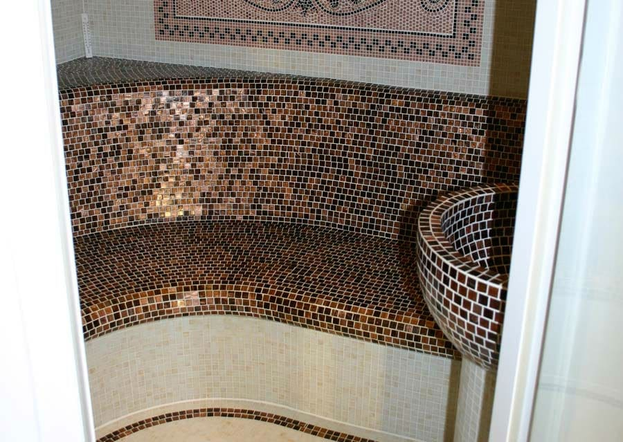 Wellness Dampfbad Mosaik