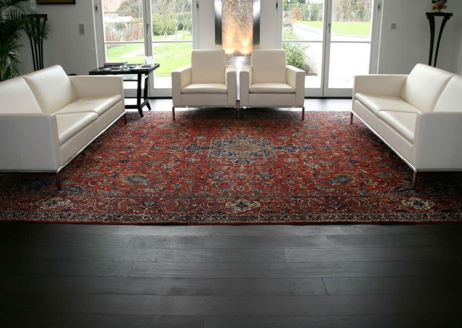 Wenge Landhausdielen Wohnzimmer
