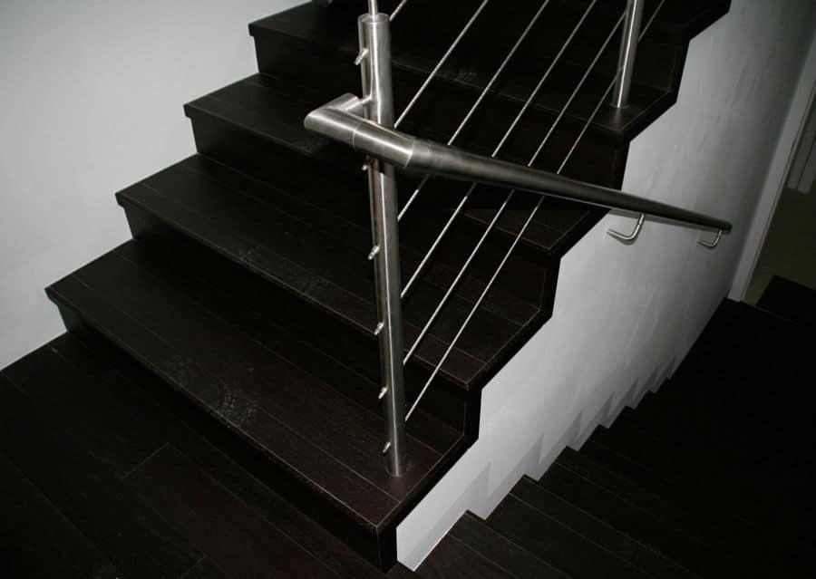 Wenge Treppe Holzplatten