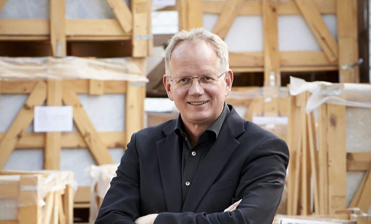 Steinexperte Thomas Schubert