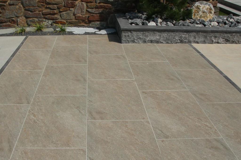 Technostein In Cm Für Außen NATURSTEIN TECHNOSTEIN - Terrassenboden stein preis