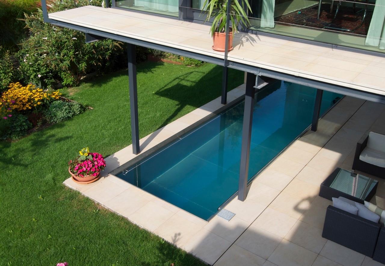 Terrassenplatten außen mit Natursteinoptik