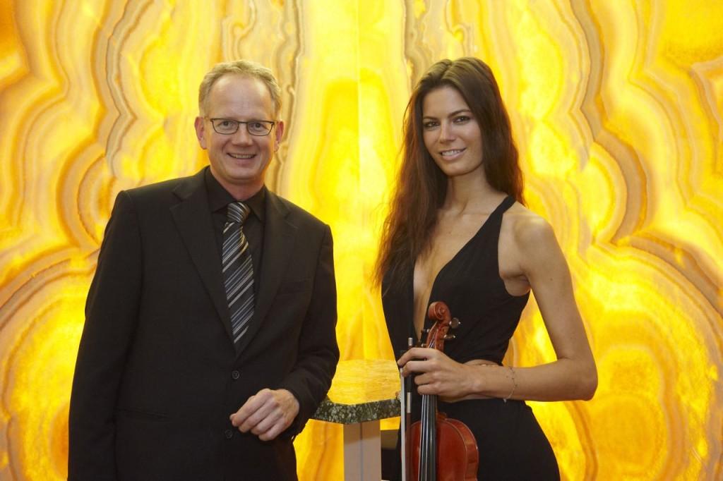 Thomas Schubert und Celine Roschek bei schubertstone