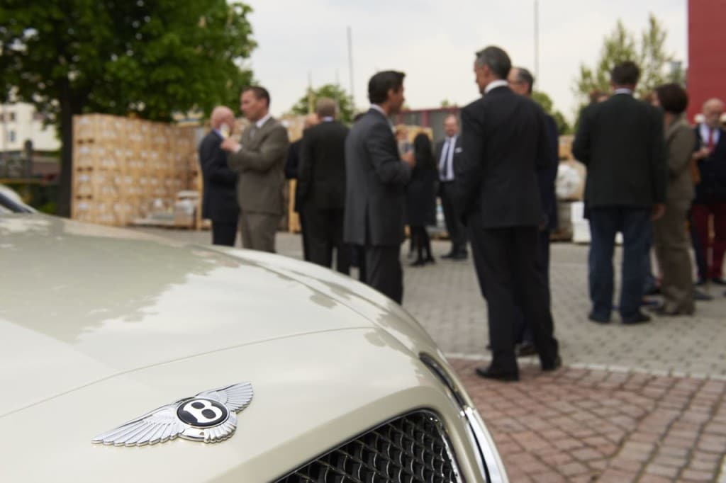 Bentley Event im Schubert Steinzentrum in Wien