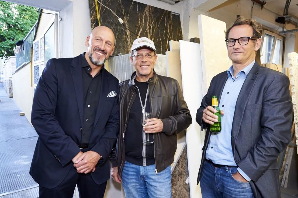 Andreas Poschalko, Erlebach, Norbert Zauchner bei Schubertstone