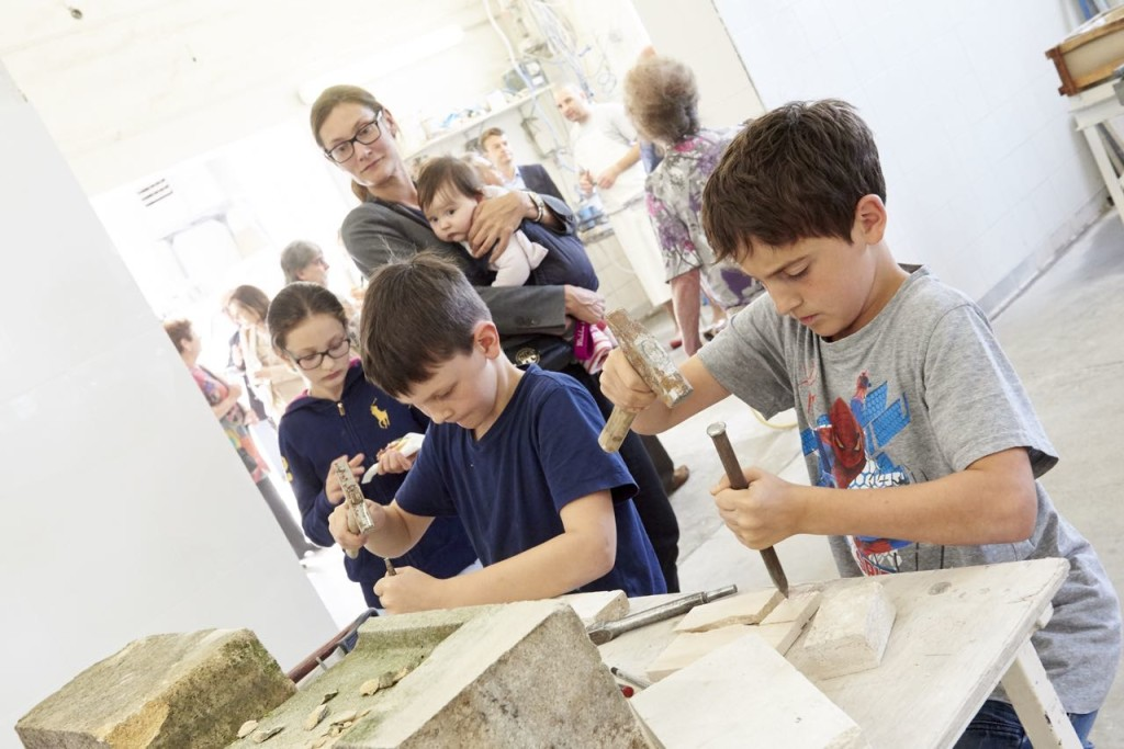 Stein Bearbeiten für Kinder in Wien