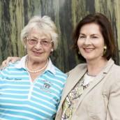 Eva Kamner und Heidi Schubert