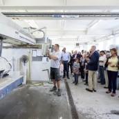 Produktion einer Küchenarbeitsplatte in Wien