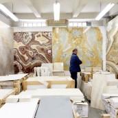 Mamorplatten bei Schubertstone in Wien