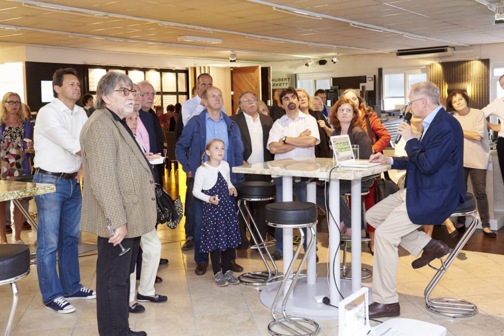 Thomas Schubert präsentiert Naturstein Referenzen