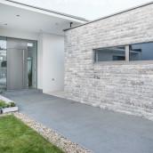 wandverblender levante crema kalkstein und terrassenplatten außen