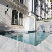 Stadtwohnung mit Pool in Wien