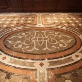 Intarisenboden aus spanischem Kalkstein