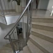 Steintreppe verlegt