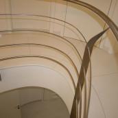 Stiegengeländer in Luxusvilla