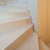 Technostein modernes Haus Treppen