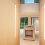 Technostein modernes Architektenhaus