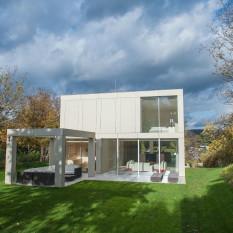 Technostein modernes Haus