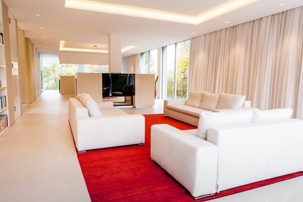 Luxus Wohnzimmer Architekten Haus