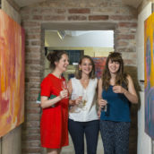 , Sommer-Vernissage in der Villa Schubert – UPDATE: Fotos sind online!