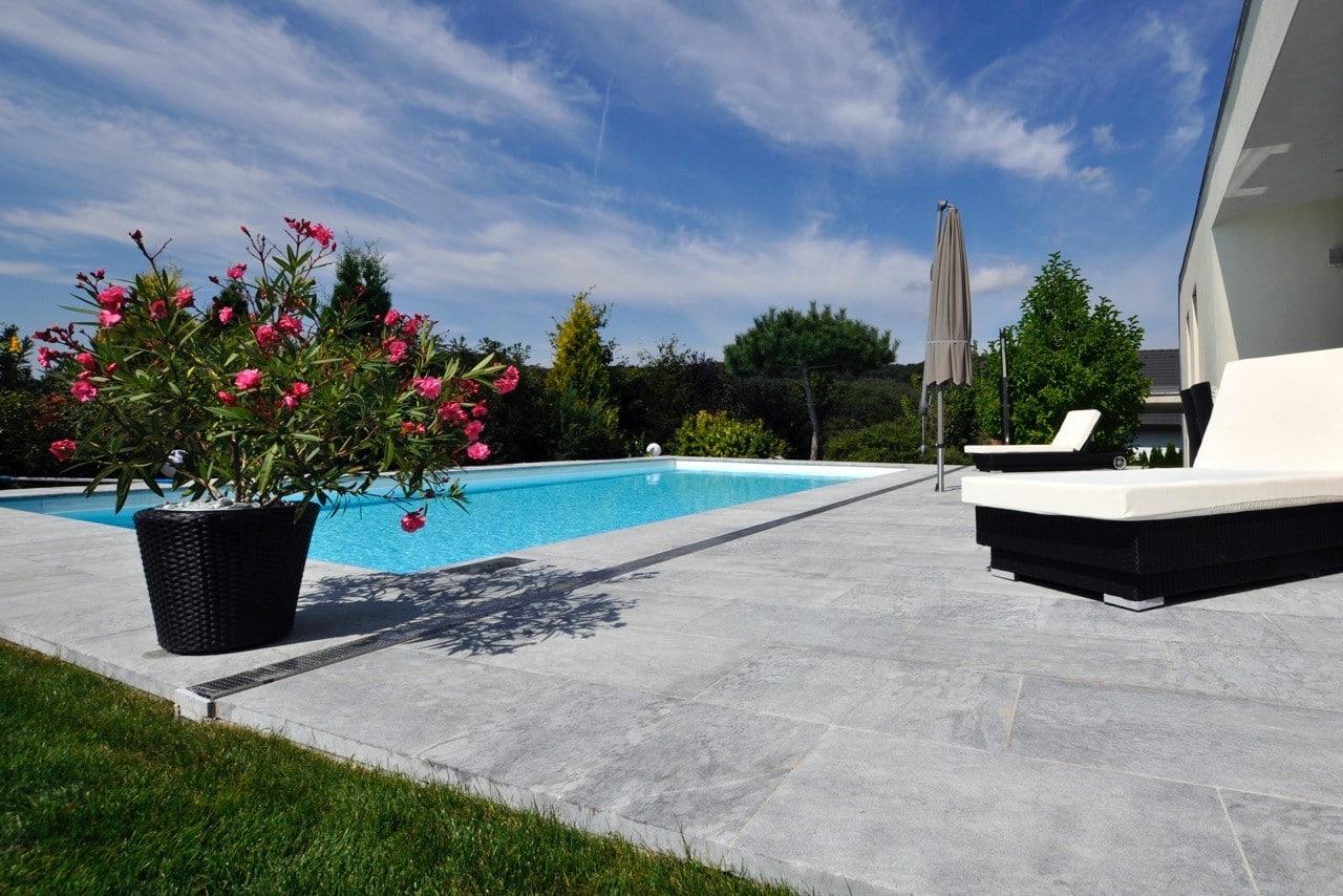 Naturstein Marmor Pool