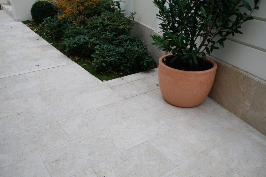 naturtein levante crema sandgestrahlt