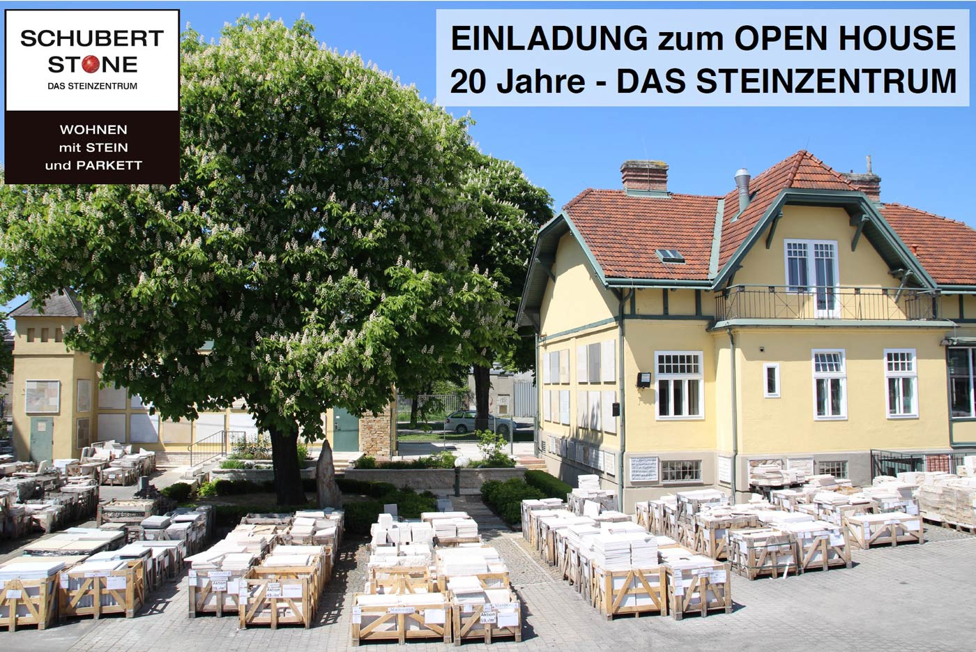 , OPEN HOUSE bei SCHUBERT STONE – 20 Jahre DAS STEINZENTRUM