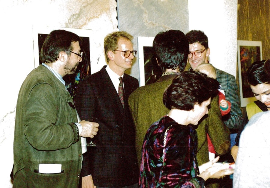schubertstone vernissage 1990-11