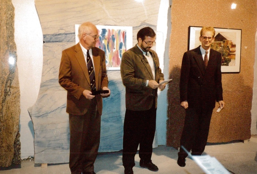 schubertstone vernissage 1990-12