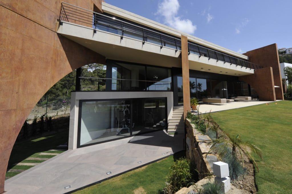 Modernes luxushaus in marbella referenzprojekt schubert for Craftingpat modernes redstone haus