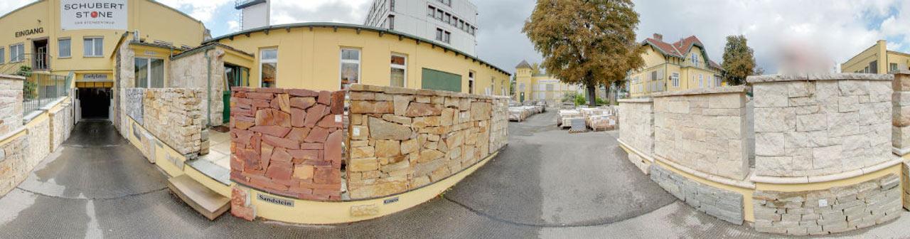Mauerausstellung Naturstein