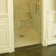 Dusche Bianco Carrara