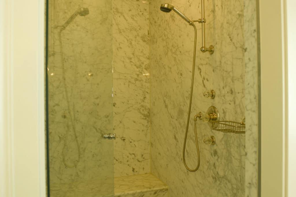 Dusche Bianco Carrara-2