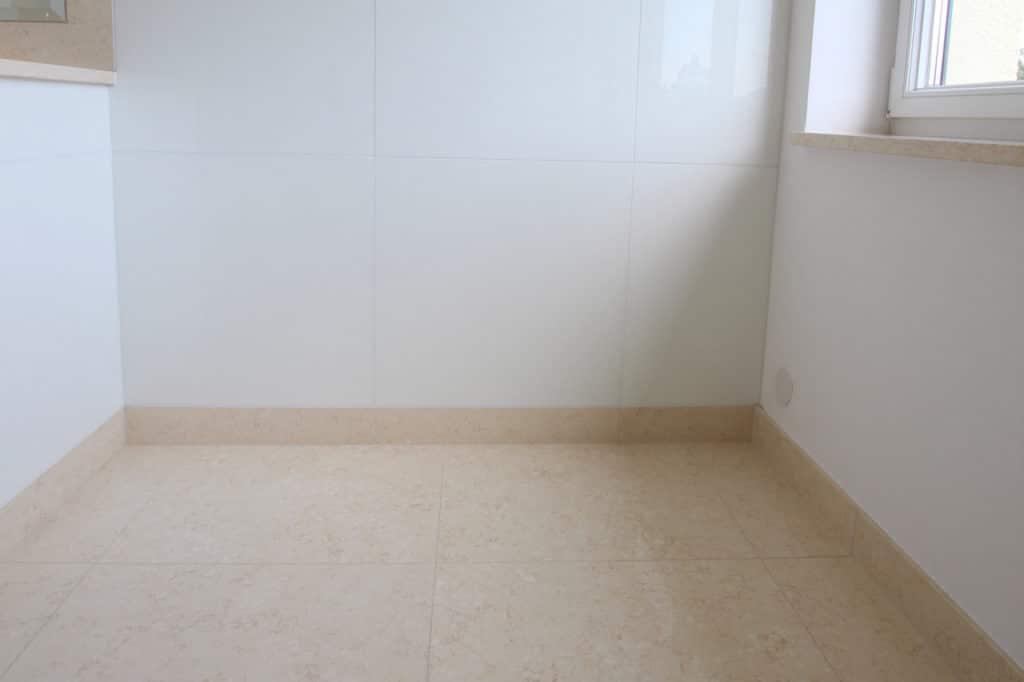 Glaskeramik Wände, Kalksteinboden