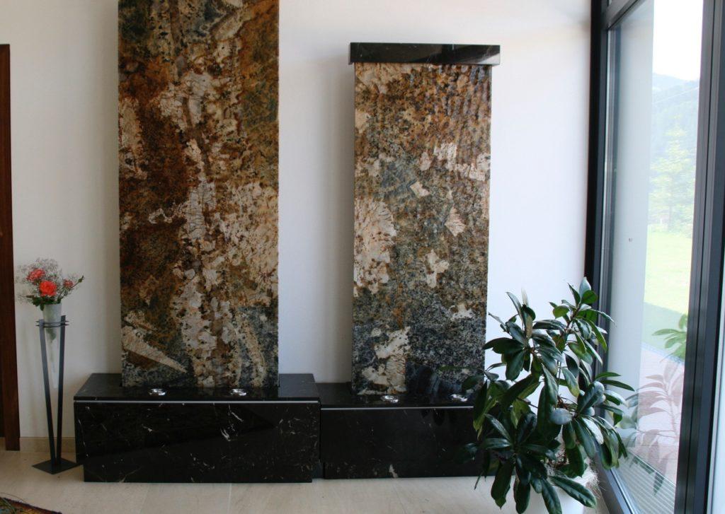 Kalksteinboden geschliffen Granit-Zimmerbrunnen