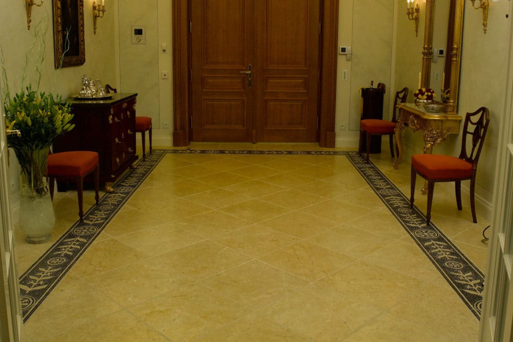 Levante Crema antik + Marmormosaik-4