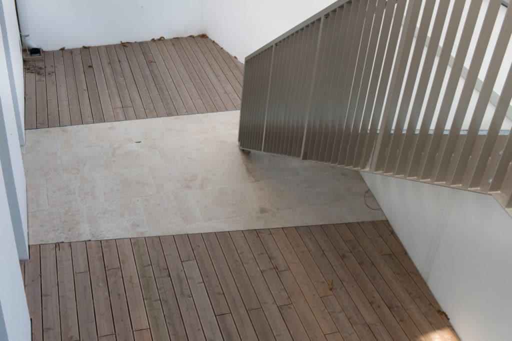 Zinshaus Wien Innenhof und Durchfahrt mit Technostein 2cm – 08