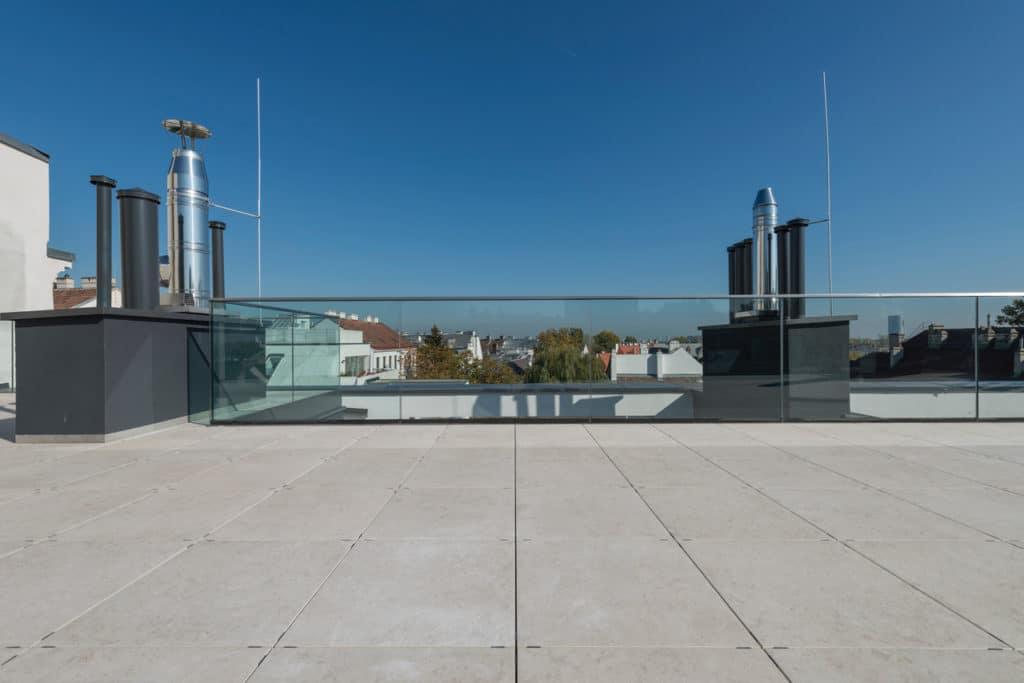 Dachterrasse mit 2cm Technostein – 02