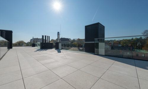 Dachterrasse mit 2cm Technostein – 05
