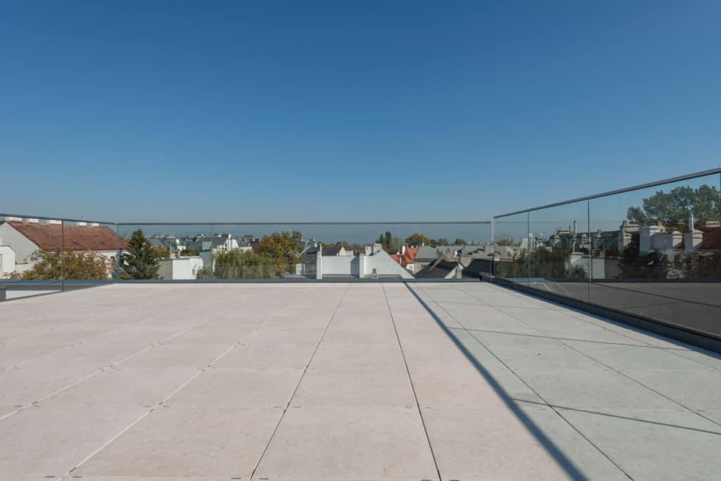 Dachterrasse mit 2cm Technostein – 09