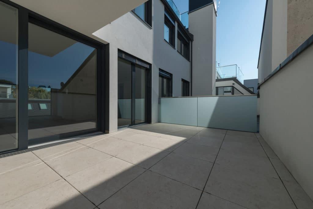 Dachterrasse mit 2cm Technostein – 14