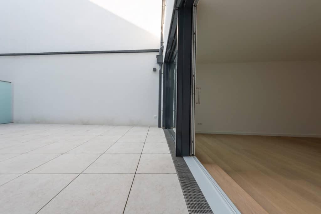 Dachterrasse mit 2cm Technostein – 17