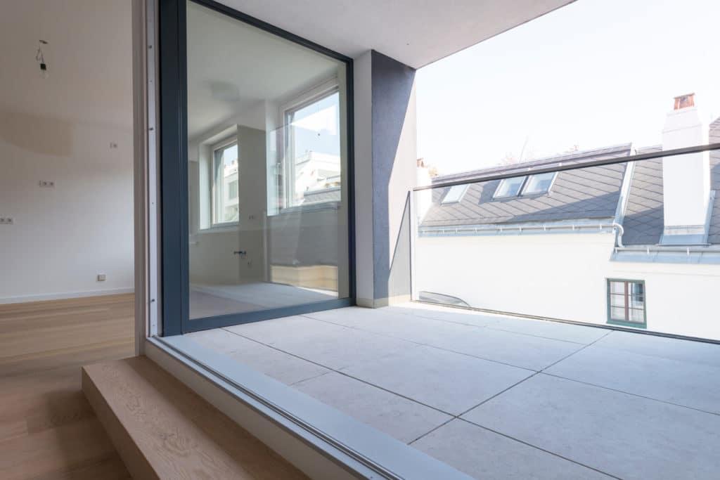 Dachterrasse mit 2cm Technostein – 18