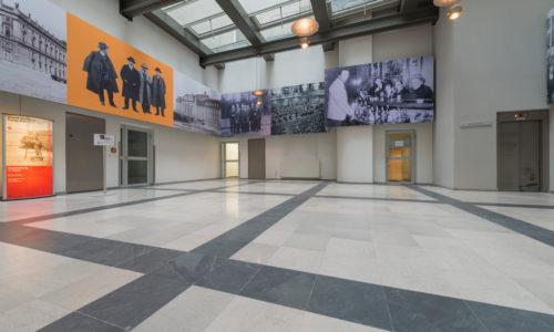 Grauer Kalksteinboden im Palais Fanto Wien – 1
