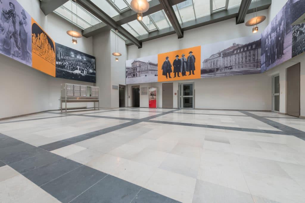 Grauer Kalksteinboden im Palais Fanto Wien – 2