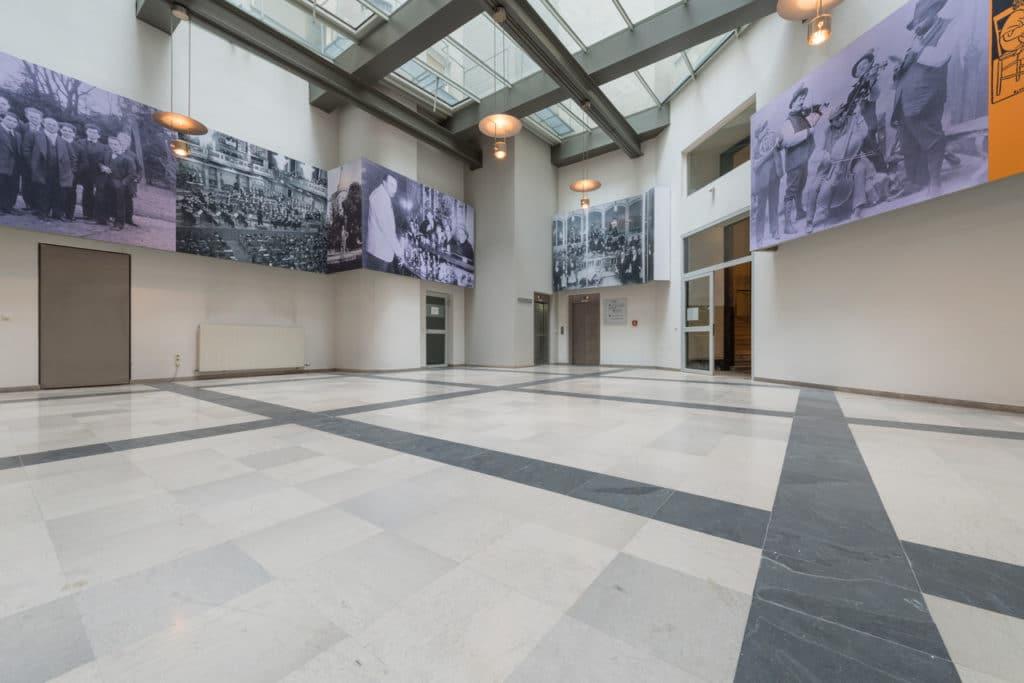 Grauer Kalksteinboden im Palais Fanto Wien – 5