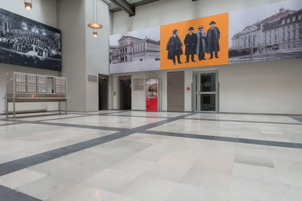 Grauer Kalksteinboden im Palais Fanto Wien – 8