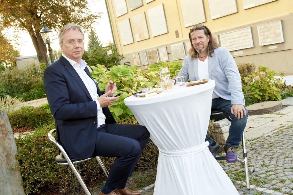 Firma Dornbracht bei einem Event im Steinzentrum Wien SCHUBERT STONE